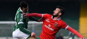 "Foto LaPresse - Gerardo Cafaro Sabato 4 Marzo 2017, Avellino (Italia) Sport Calcio U.S. Avellino 1912 vs A.C. Perugia Calcio Campionato di Calcio Serie B Conte.it 2016/2017 - Stadio ""Partenio - Adriano Lombardi"" Nella foto: Gonzalez Photo LaPresse - Gerardo Cafaro Saturday 4th March 2017, Avellino (Italy) Sport Soccer U.S. Avellino 1912 vs A.C. Perugia Calcio Italian Football Championship League B Conte.it 2016/2017 - ""Partenio - Adriano Lombardi"" Stadium In the picture:Gonzalez"