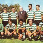 Sporting vencredor da Taça de Portugal em 1970