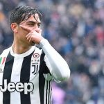 Juventus' Paulo Dybala jubilates after scoring the goal during the Italian Serie A soccer match Juventus FC vs Udinese Calcio at Allianz Stadium in Turin, Italy, 11 March 2018. ANSA/ALESSANDRO DI MARCO